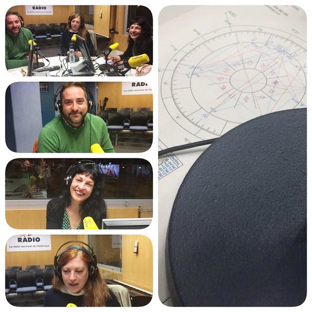 Què bé ho hem passat a @catalunyradio amb @gabrieljmartin i #helenateixidor parlant d'astrologia sexual :))