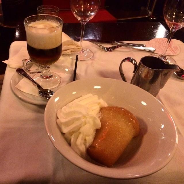 Babà y café irlandés ;))