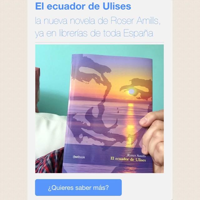 Ya puedes comprar en cualquier librería de España 'El ecuador de Ulises' y si se ha agotado, encárgala: te gustará viajar a los años 50 ;)) #elecuadordeulises
