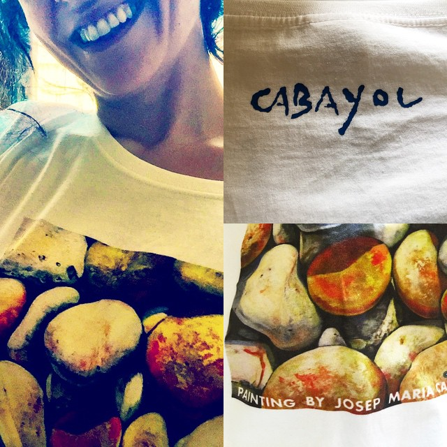 Regálale a tu madre una camiseta del excelente pintor Josep Maria Cabayol, #felizdiadelamadre #amorconarte