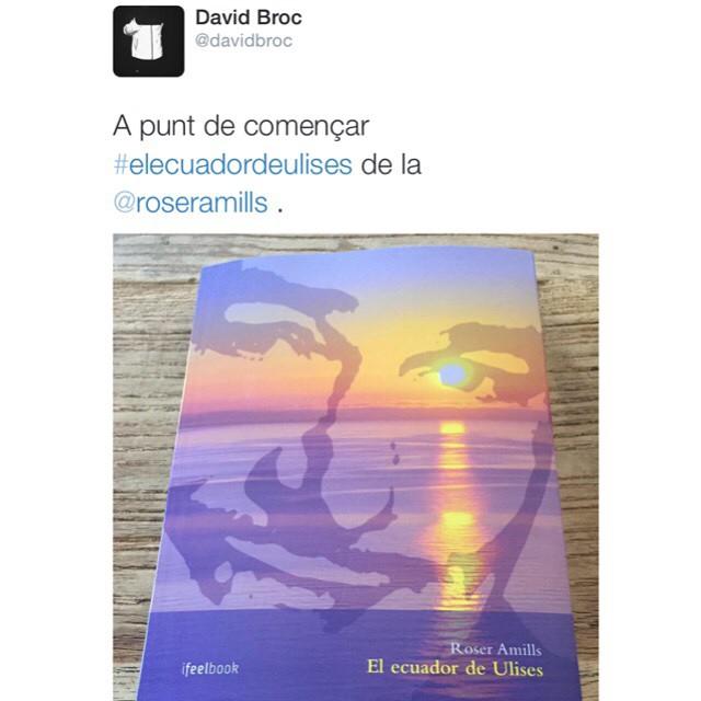 Bello David Broc buen lector y mejor persona :)) #elecuadordeulises