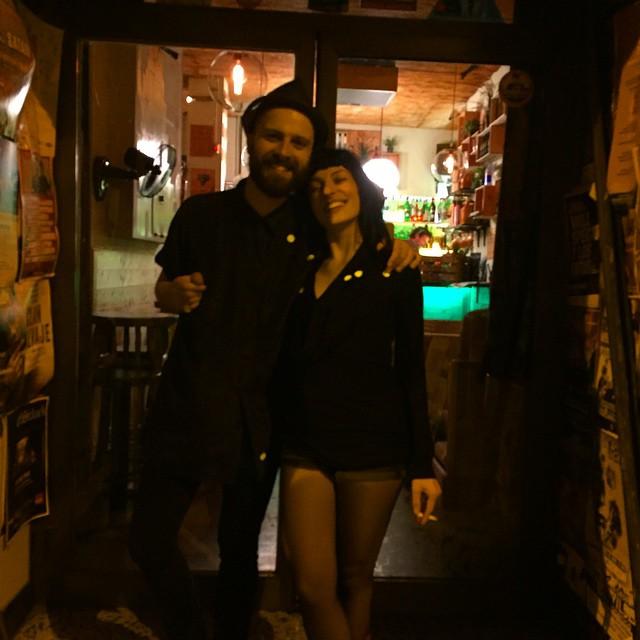 Con @cristoenbarna alegria y topos 😍