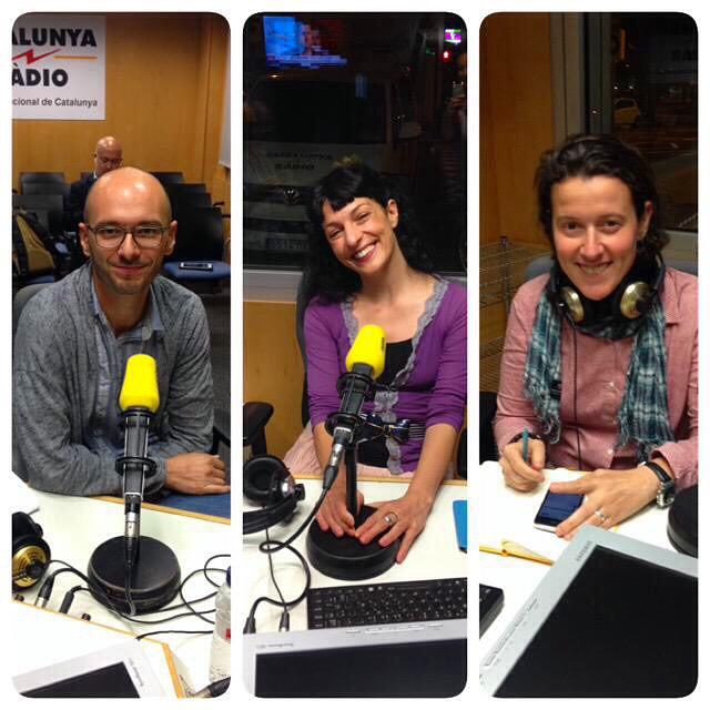 Avui a Catalunya Ràdio hem parlat de sexe i publicitat amb Dani Borrell de Quantum i Sam Judez i ha estat molt divertit!!!