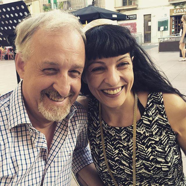 Fantàstica trobada amb Josep-Manuel Rafí! La tarda s'ha fet lluminosa!!!