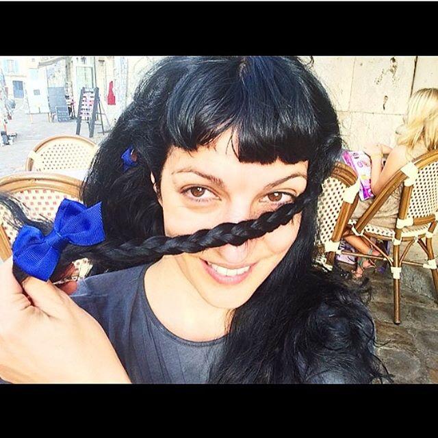 Trenzas #azulchartres :))