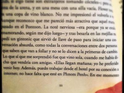 """… como todas las conversaciones entre dos personas que saben que van a follar y no se lo dicen a primeras de cambio… Joaquin Campos, novela """"Doble ictus"""""""