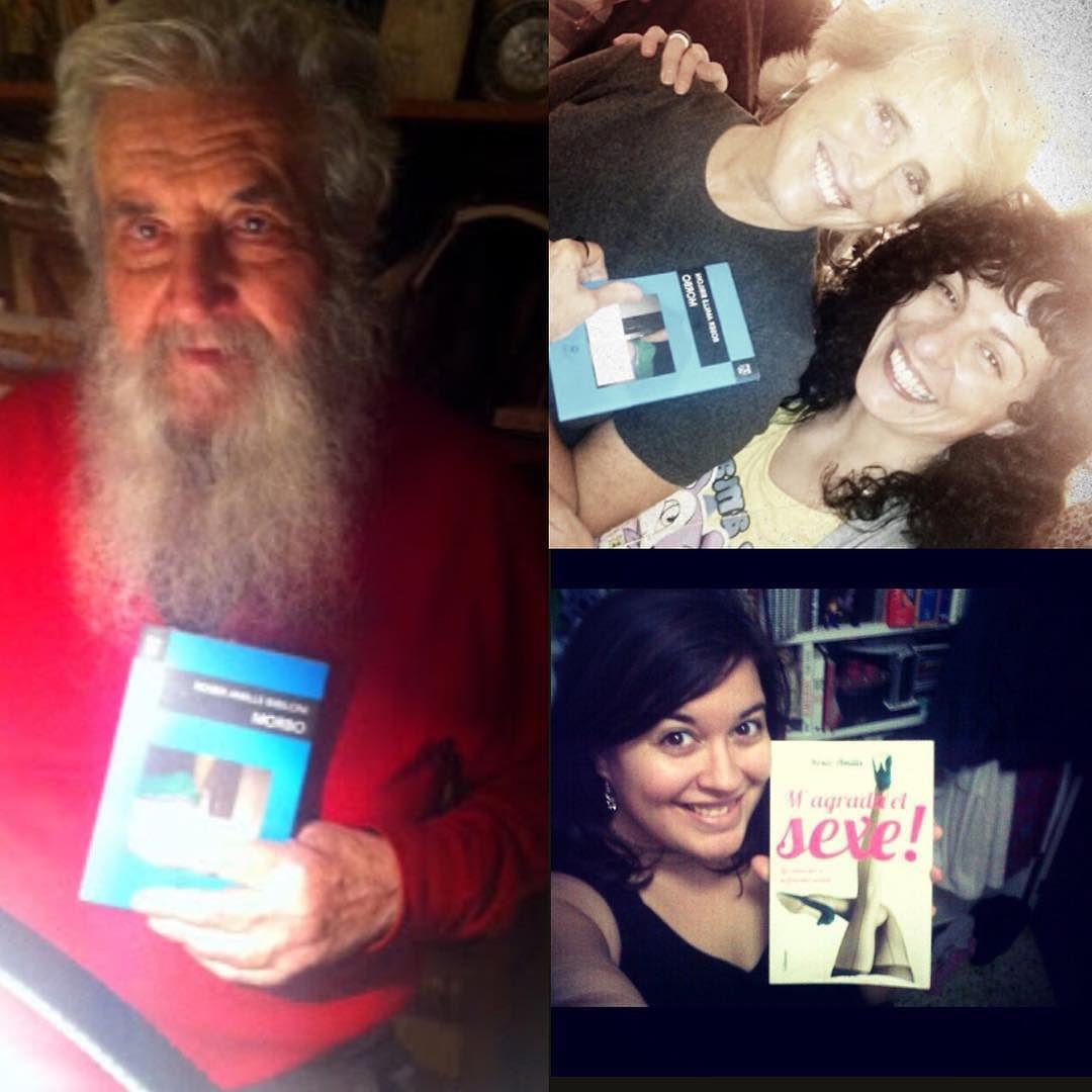 Ya hace 4 años: Jenny con #megustaelsexo y Mercedes Milá y el gran Jesús Lizano con #morbo Lectores amorosos!