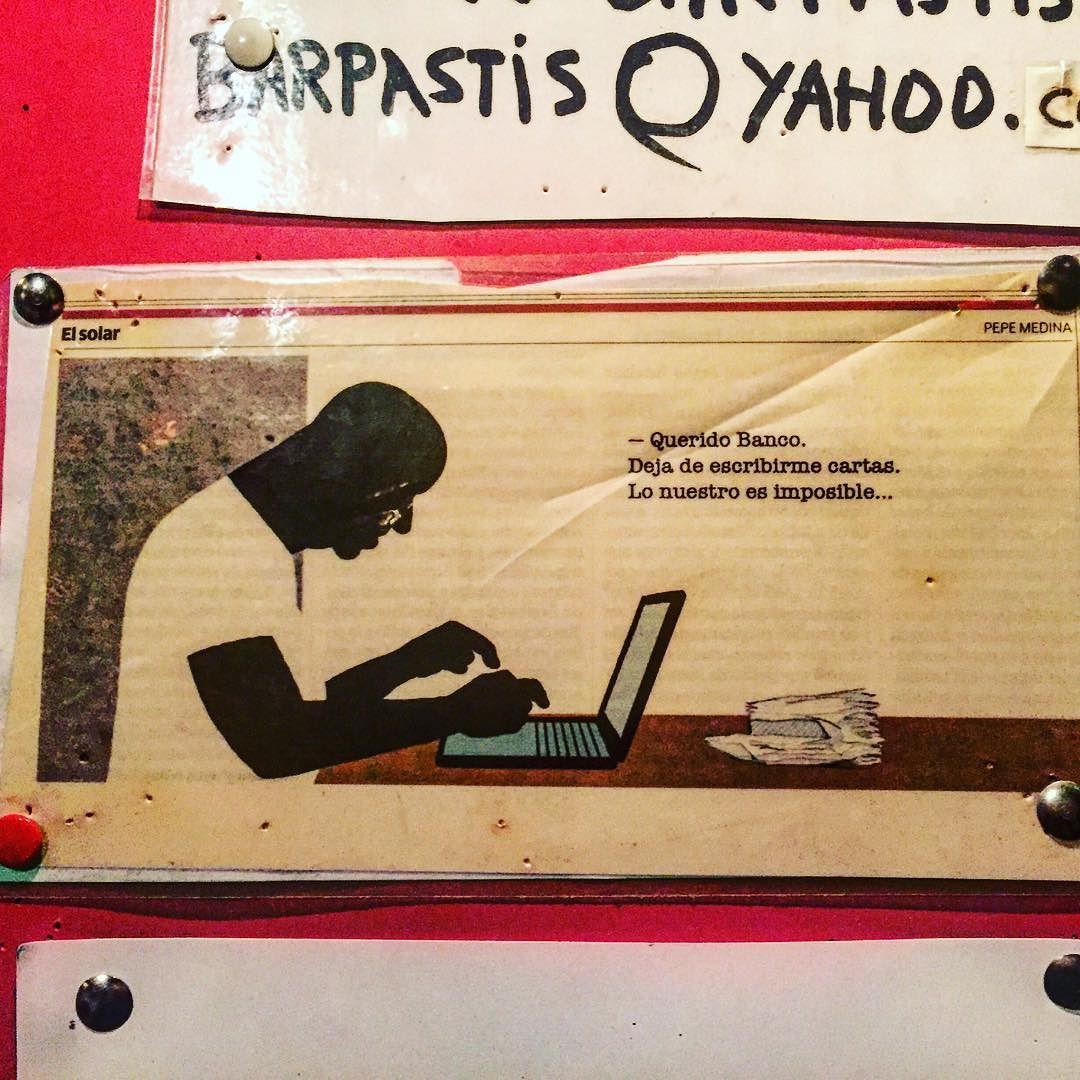 Querido banco, deja de escribirme cartas: lo nuestro es imposible ;))