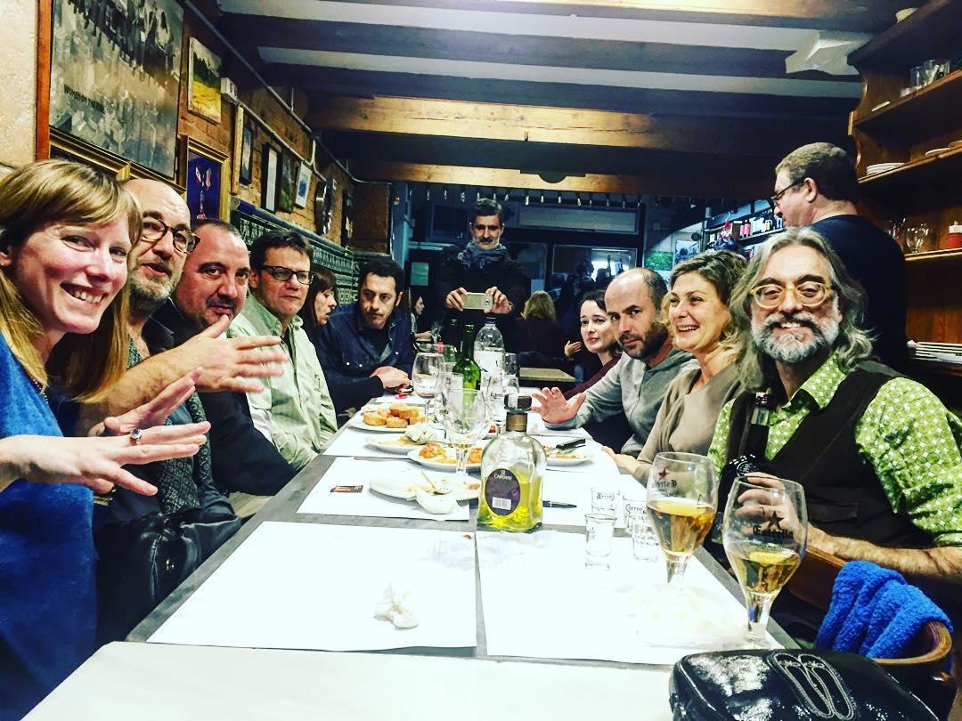 Sopar estrena de #eldiadelasipia protagonitzada per #miquelbarcelo i #enriquevilamatas