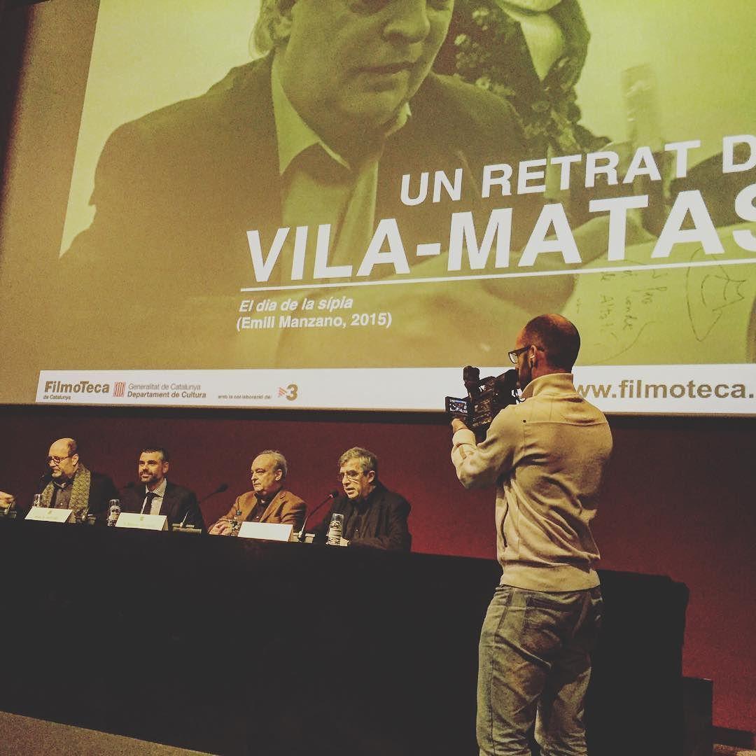 Ara, estrena de #eldiadelasipia amb #miquelbarcelo i #enriquevilamatas