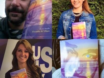 Ellos ya se han leído la novela sobre Errol Flynn en Mallorca #elecuadordeulises ¿Y tú?