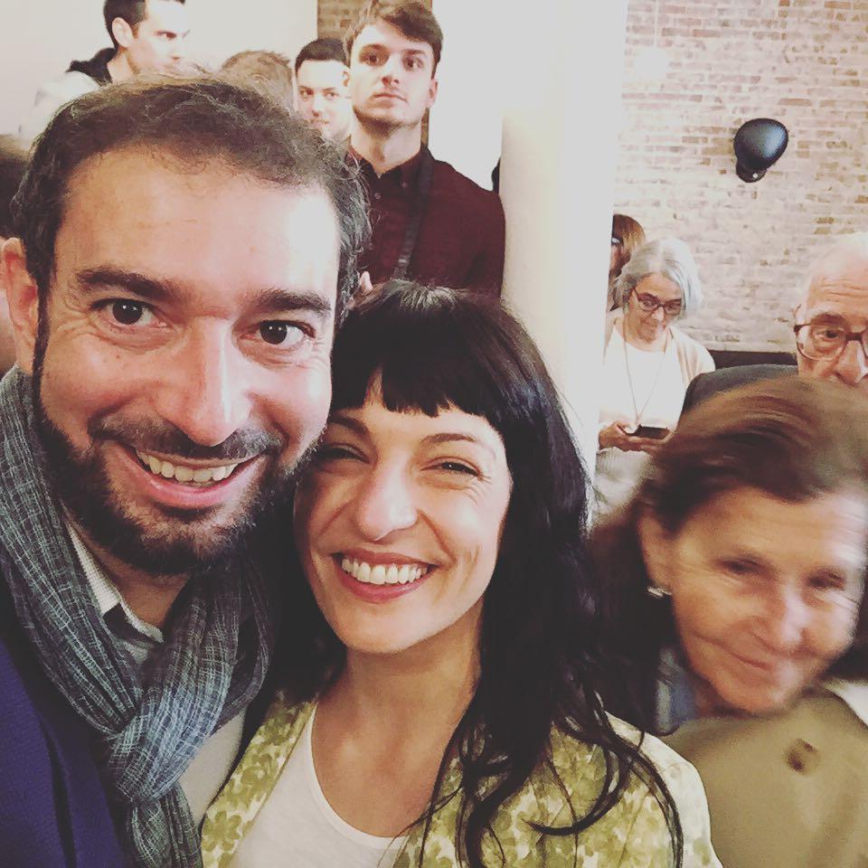 Con @perestupinya , os regalamos nuestro instante selfie @ifbeditors