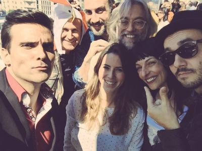 Candela Figueras, Perez Esquerdo, Víctor Amela y Roser Amills, Jair Domínguez (Sant Jordi)