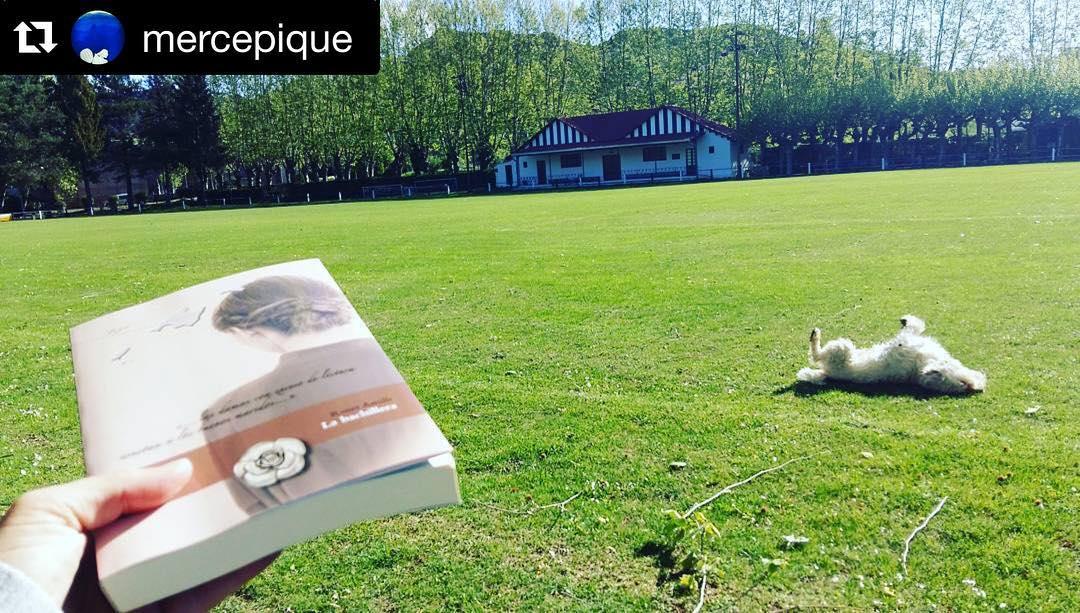 Gracias @mercepique por leer La bachillera