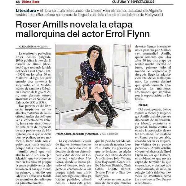 Habéis leído, en el diario @UHmallorca , la entrevista sobre de @carlesdomenec ?