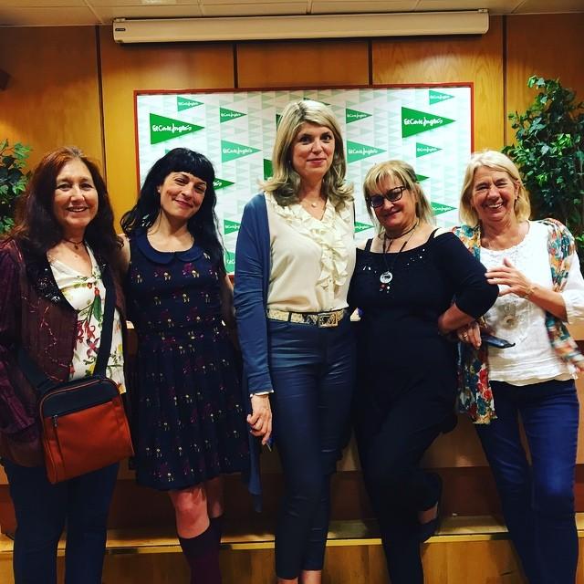 Un bonito recuerdo de Marta Querol: cuando le presenté un libro en Ámbito Cultural de El Corte Inglés de Barcelona
