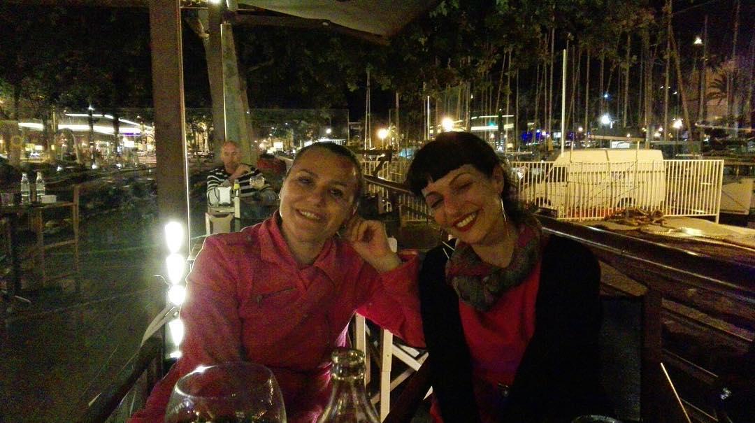 Entre luces y copas, amistad ;))