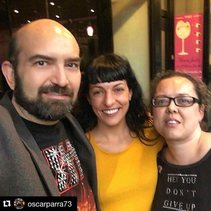 Gracias a vosotros Oscar Parra y Olga Anderez
