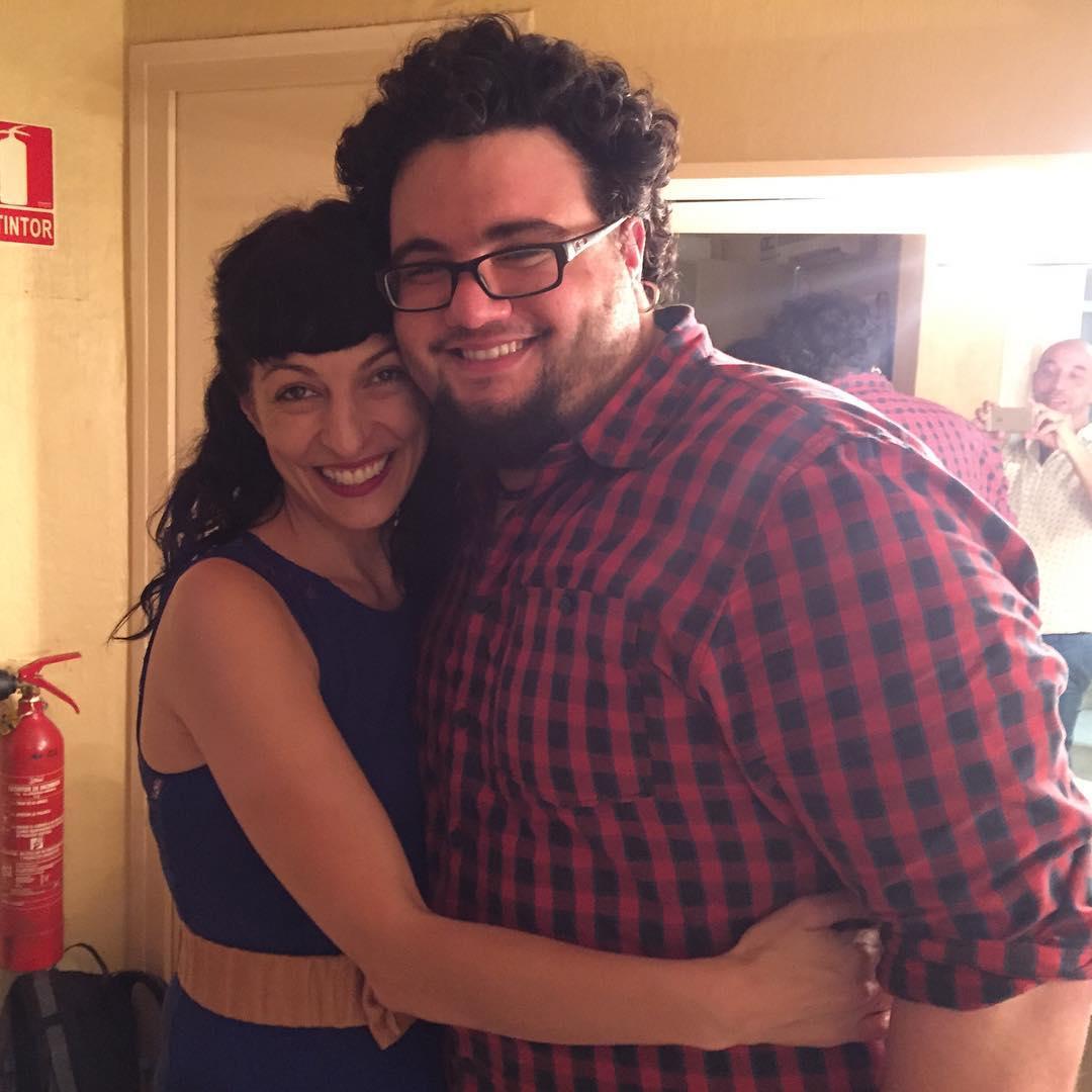 Sin filtros, amor por mi admirado @berengueraina EL BATERÍA de @lidiaguevara hoy