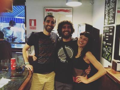 El bar Pietro está de fiesta #nitsdejazzgracia ;))