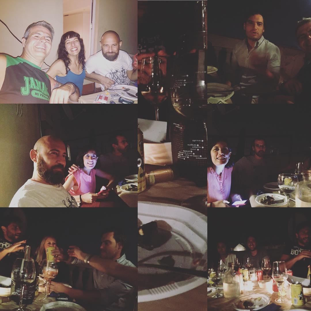 Bella cena y mejores comensales ;))