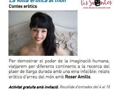 Dia 19 sóc a Mataró: Relats eròtics d'arreu del món per trobar el plaer de llarga durada