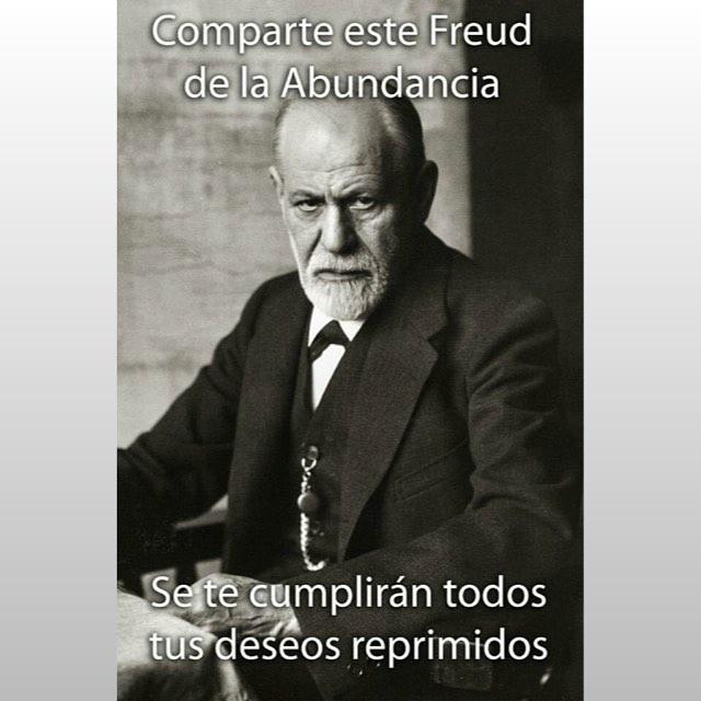 Comparte este #Freud de la abundancia... ;))