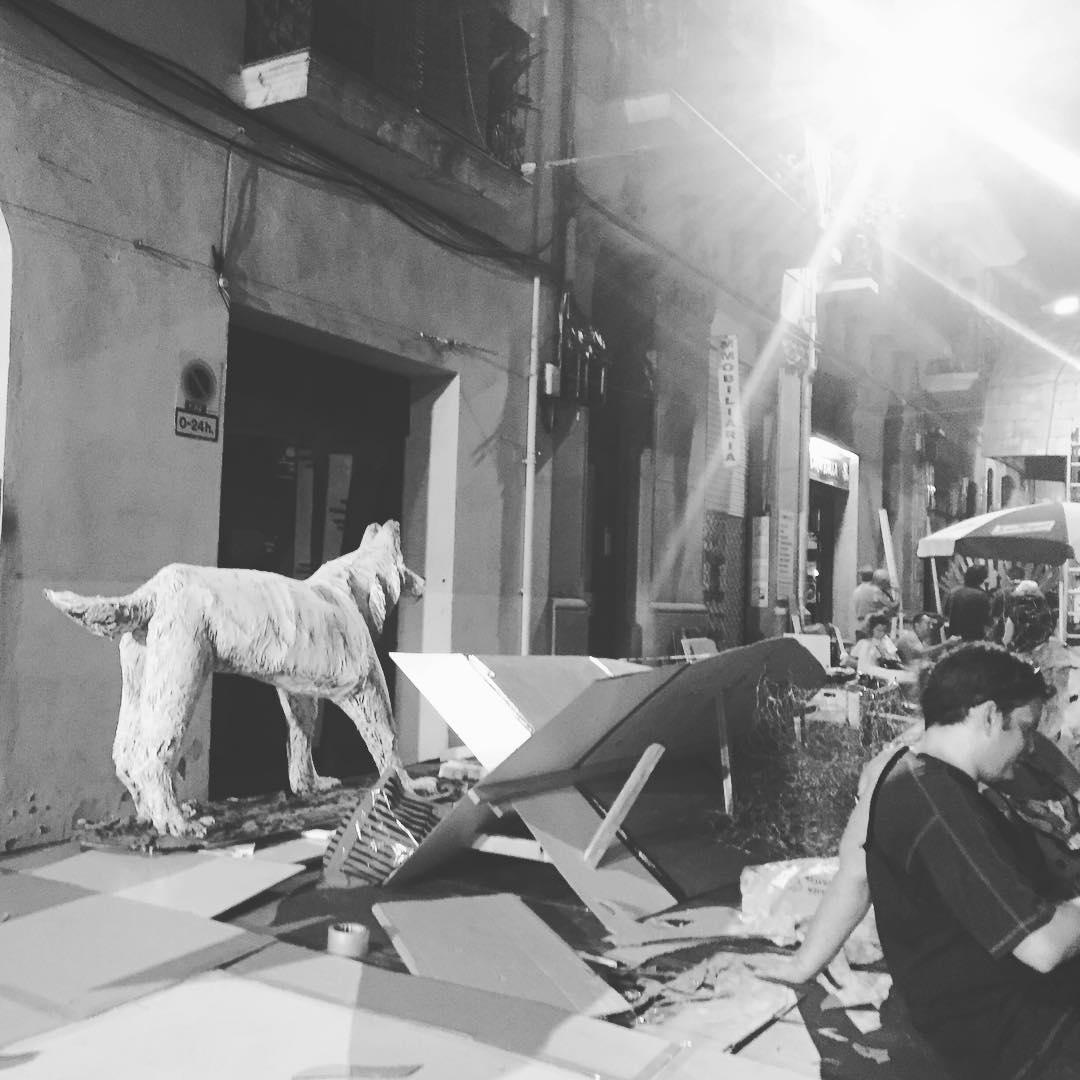 Trabajarán toda la noche para que las #festesdegracia2016 sean un éxito