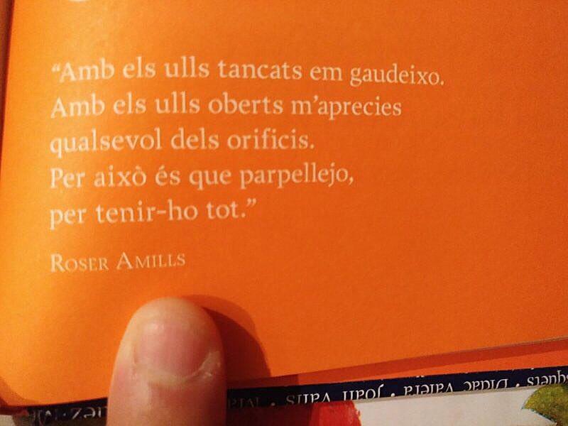 Si un dia algú cita un poema teu... Gracis Xavi Pereira per compartir aquest de #morbo de 2010 !!!