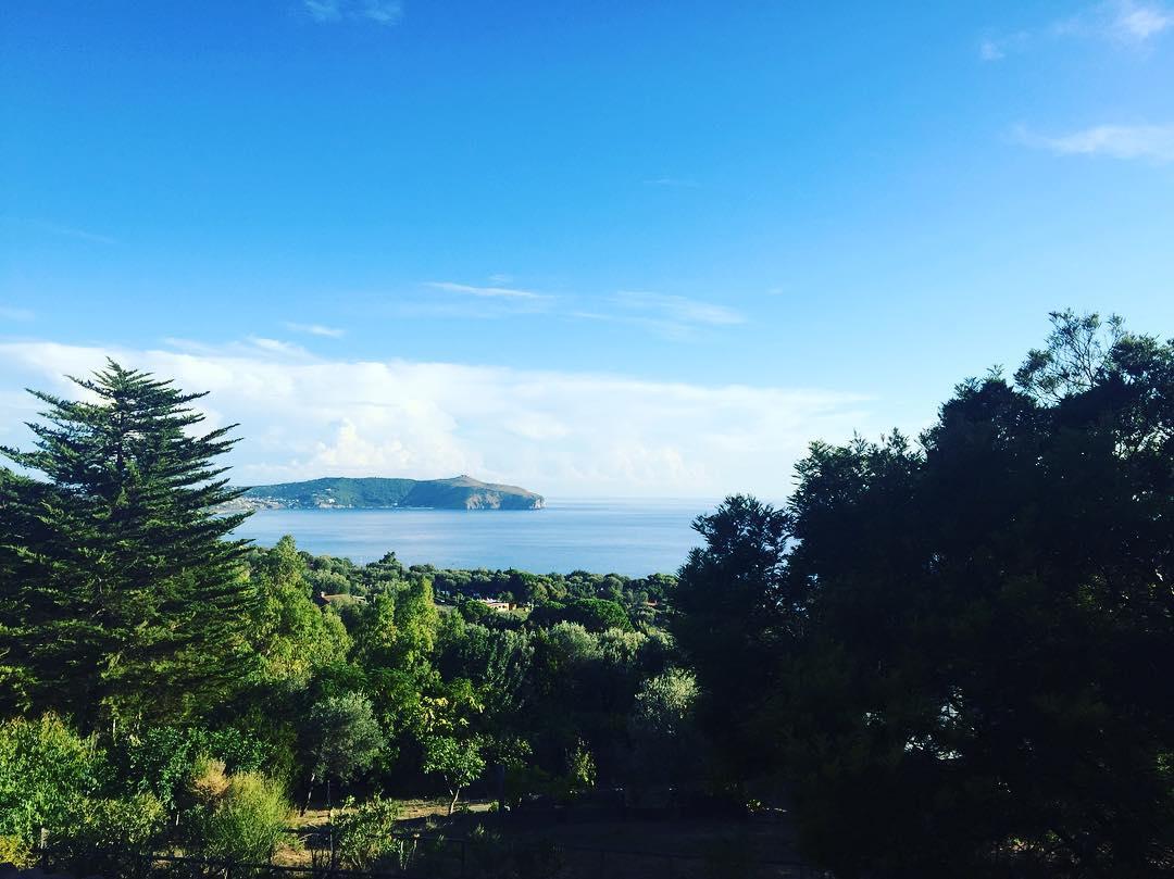 Os gustan las vistas que tenemos desde la habitación? #palinuro