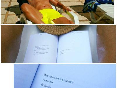 Gracias Xavier Pereira por leer hoy #unosoloporfavor ;)) #poetry #poem #poet