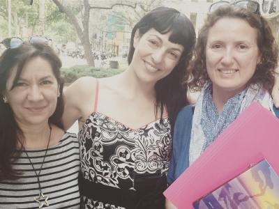 Amo a mis agentes editoriales: Marta y Piluca
