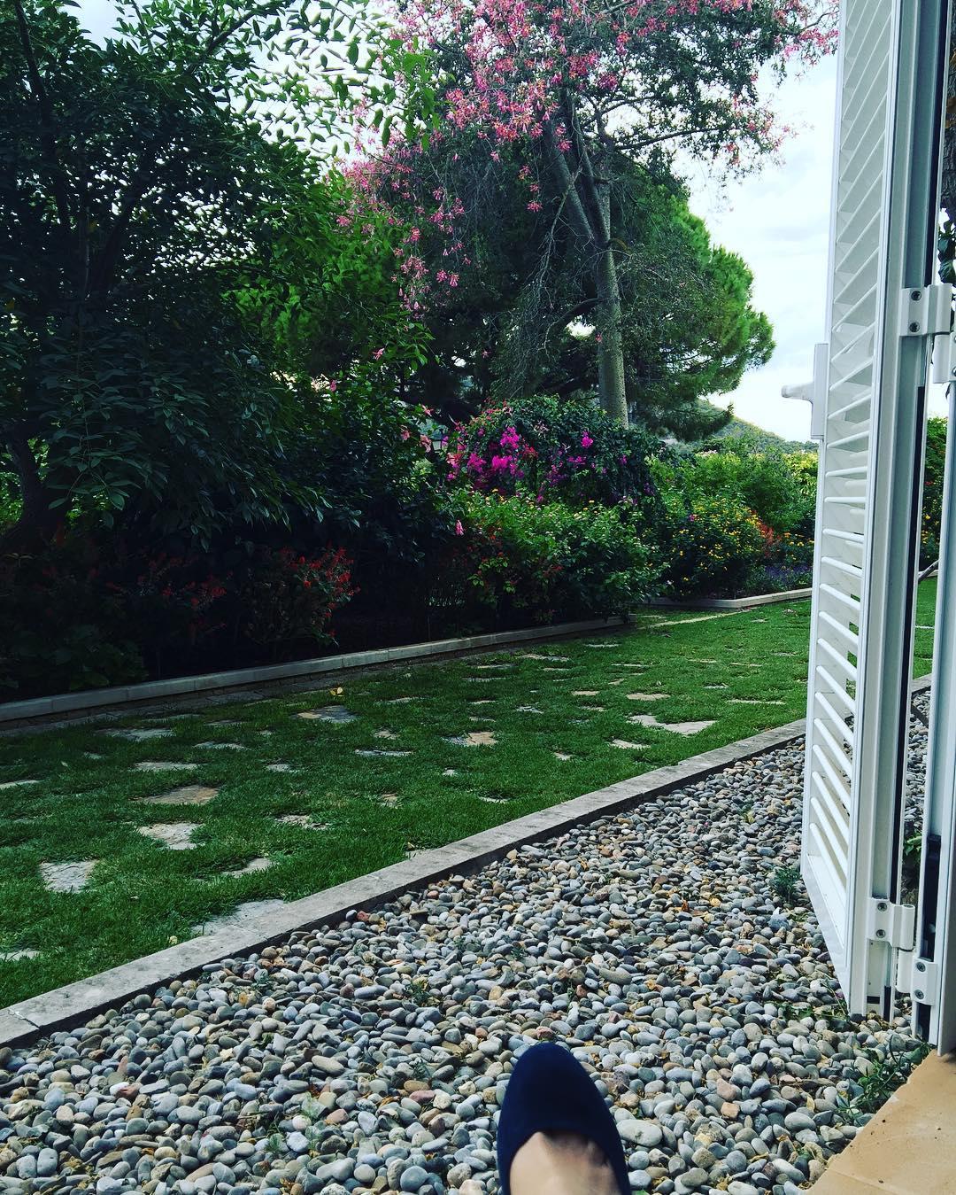 Adoro nuestra habitación con vistas al jardín @barceloformentor ;))