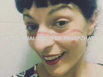 Os presento el filtro analógico de #snapchat. He visto un maquillaje punk y he tenido esta ideita ;))