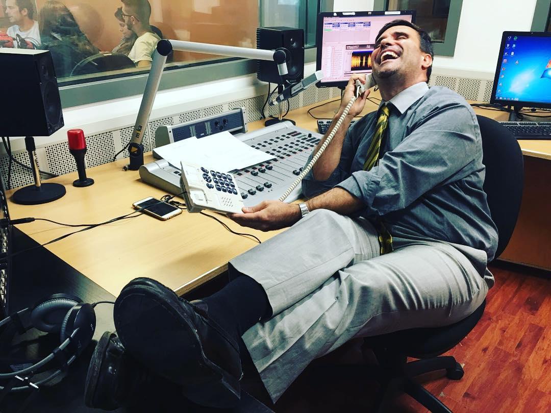 El Perez Esquerdo m'ha fet l'estudi d'audiència de #lasegonahora #RAC1! No us ho perdeu, a les 13h!