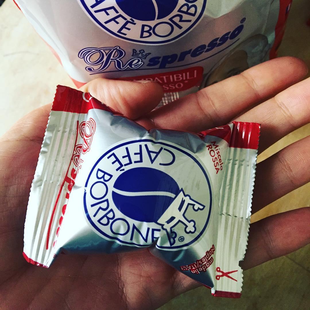 La escritura tendrá #doping con cafetito del bueno ;)) #caffeborbone