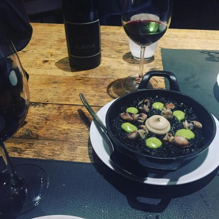 Cenita de otoño y seguimos :)) #llamber #bcn #gourmet #elborn #llamberbarcelona #tapas #barcelona #restaurant #instafood #foodpic #cocinacreativa #gastronomy #gastronomia #spanish #cocina #food #borne #foodie #igersbcn #instabcn