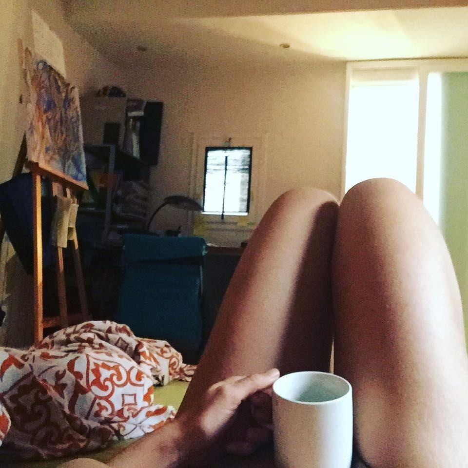Feliz café italiano en la cama ;)) #amillsmorning #bondia #buenosdias