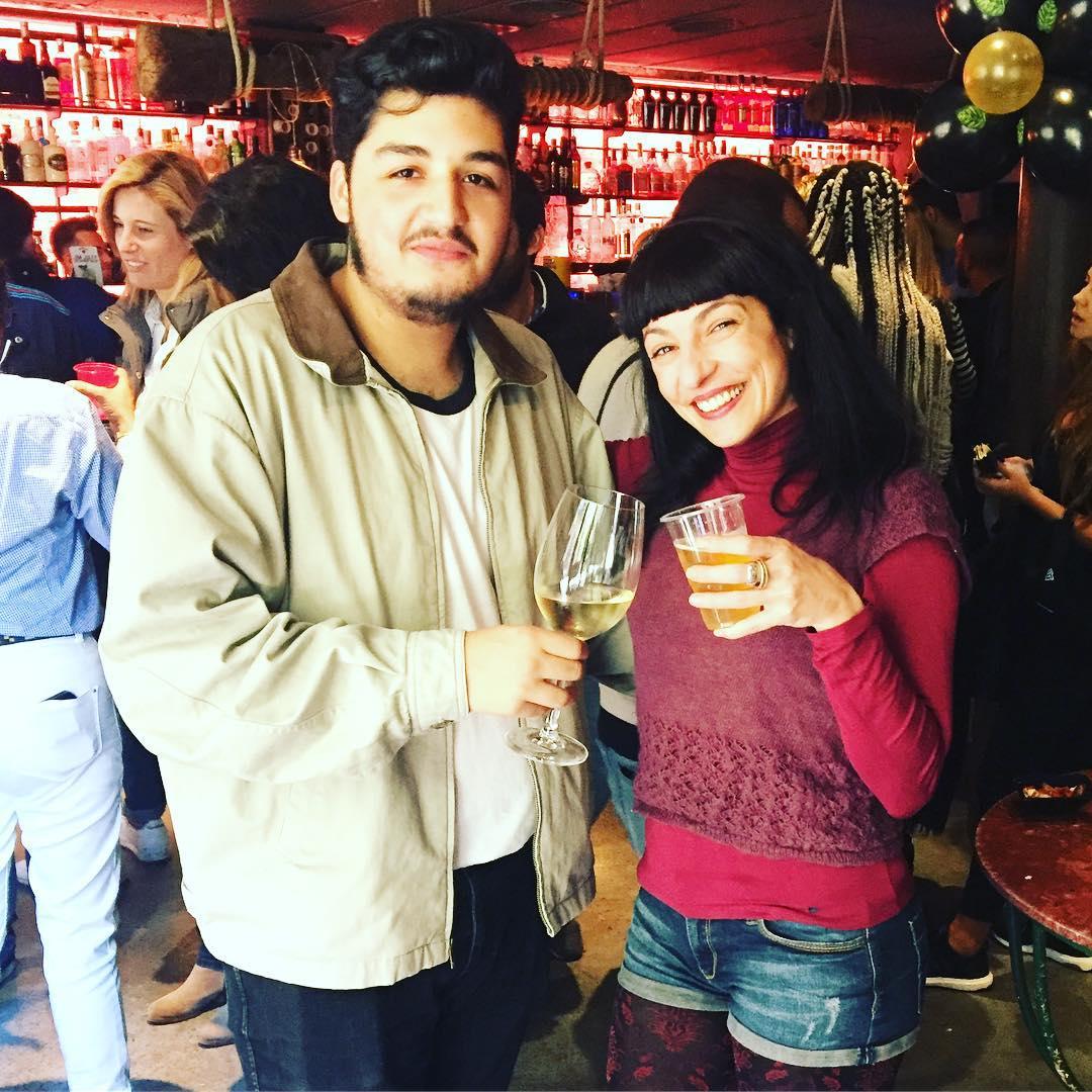 Y sí, @garciaaurin sabe con qué hay que brindar en el #brunch de #zerokm ;)) #aniversario