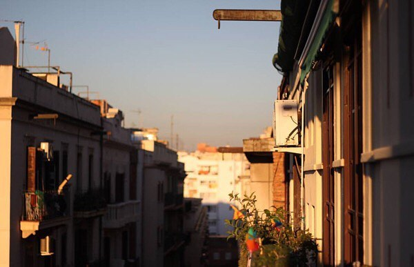Me gusta mucho la foto que ha hecho #lamadredelcomanche desde mi balcon :)) #barridegracia @lamadredelcomanche