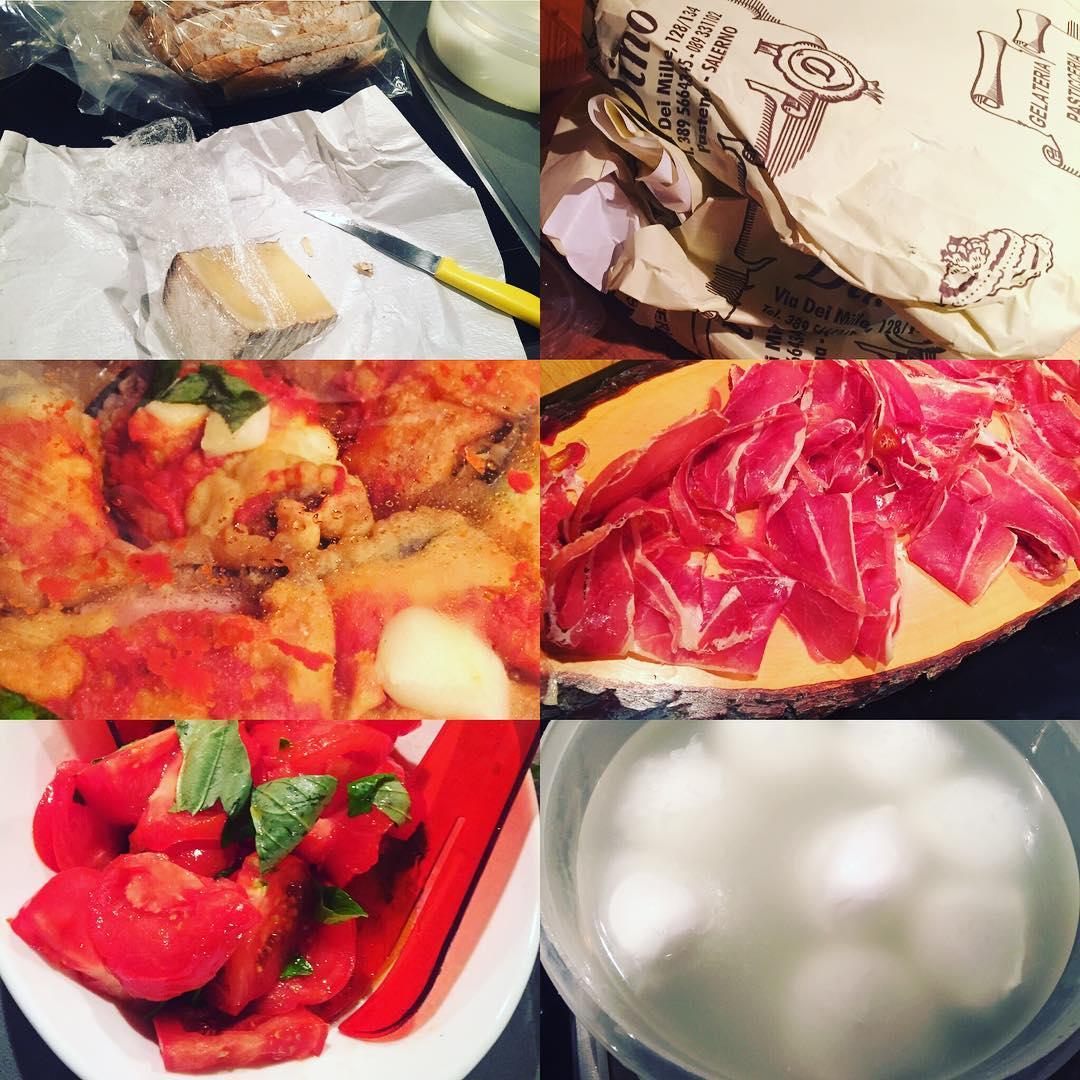 Tenemos buenos alimentos para una gran cena ;))