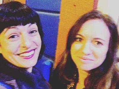 Mañana esta maravillosa periodista nos va a regalar una #entrevista: Cristina Moreno Bonet a @el_triangle