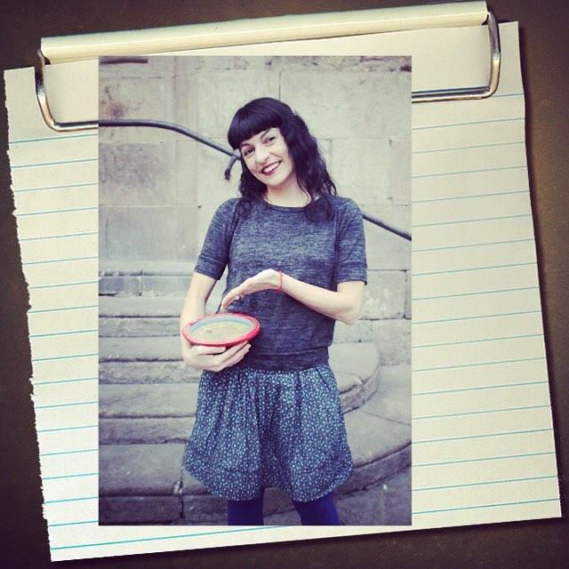 Una altra foto de l'entrevista que m'ha fet la Cristina Moreno Bonet a | Foto d'Àngel Guerrero