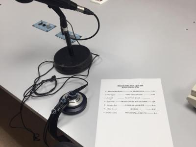 A @radiorubi amb les cançons que he triat per l'entrevista