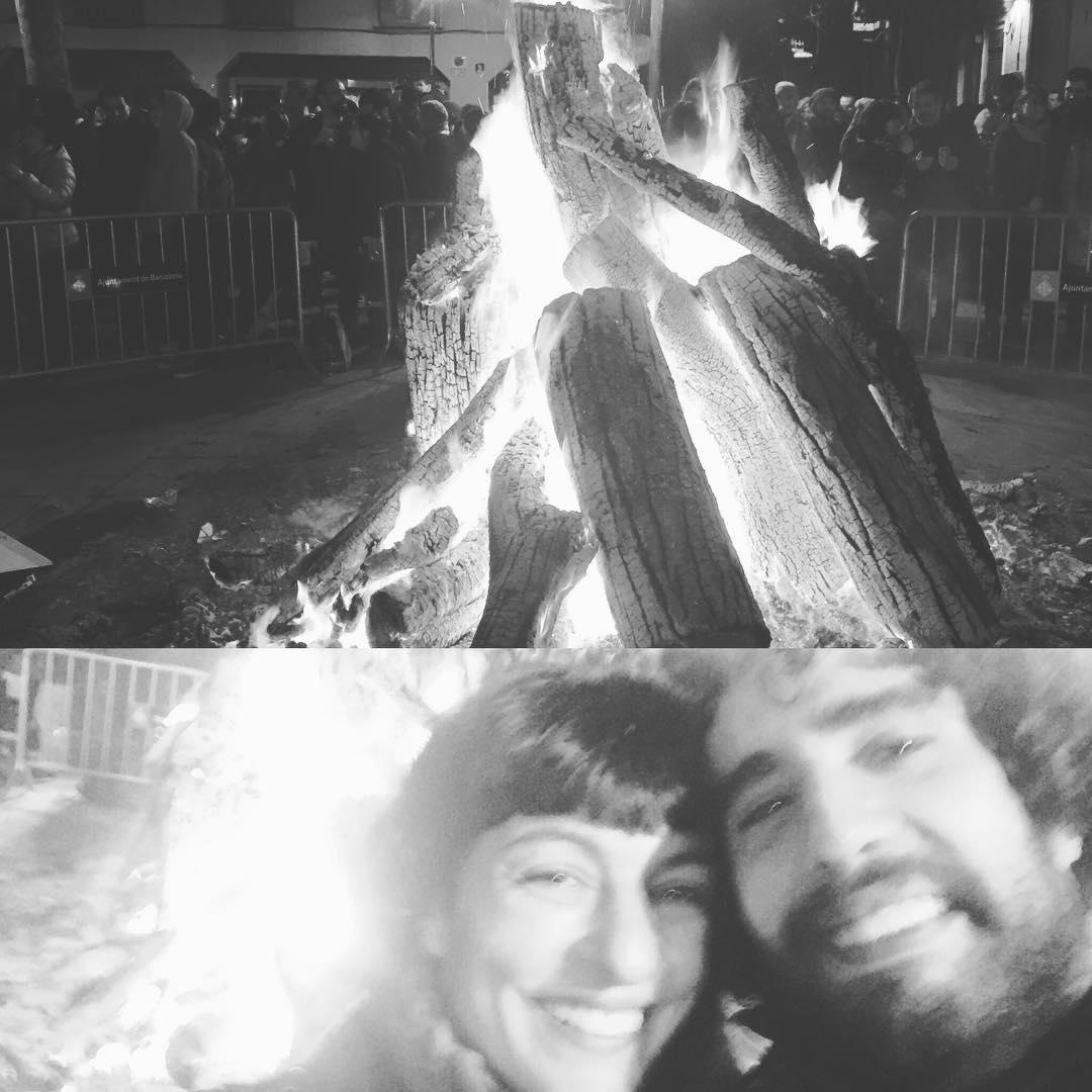Foguerons 2017 Foguerons de Sa Pobla a Gràcia 2017・・・#Foguerons #fogueronsgracia #fogueronsdesantantoni