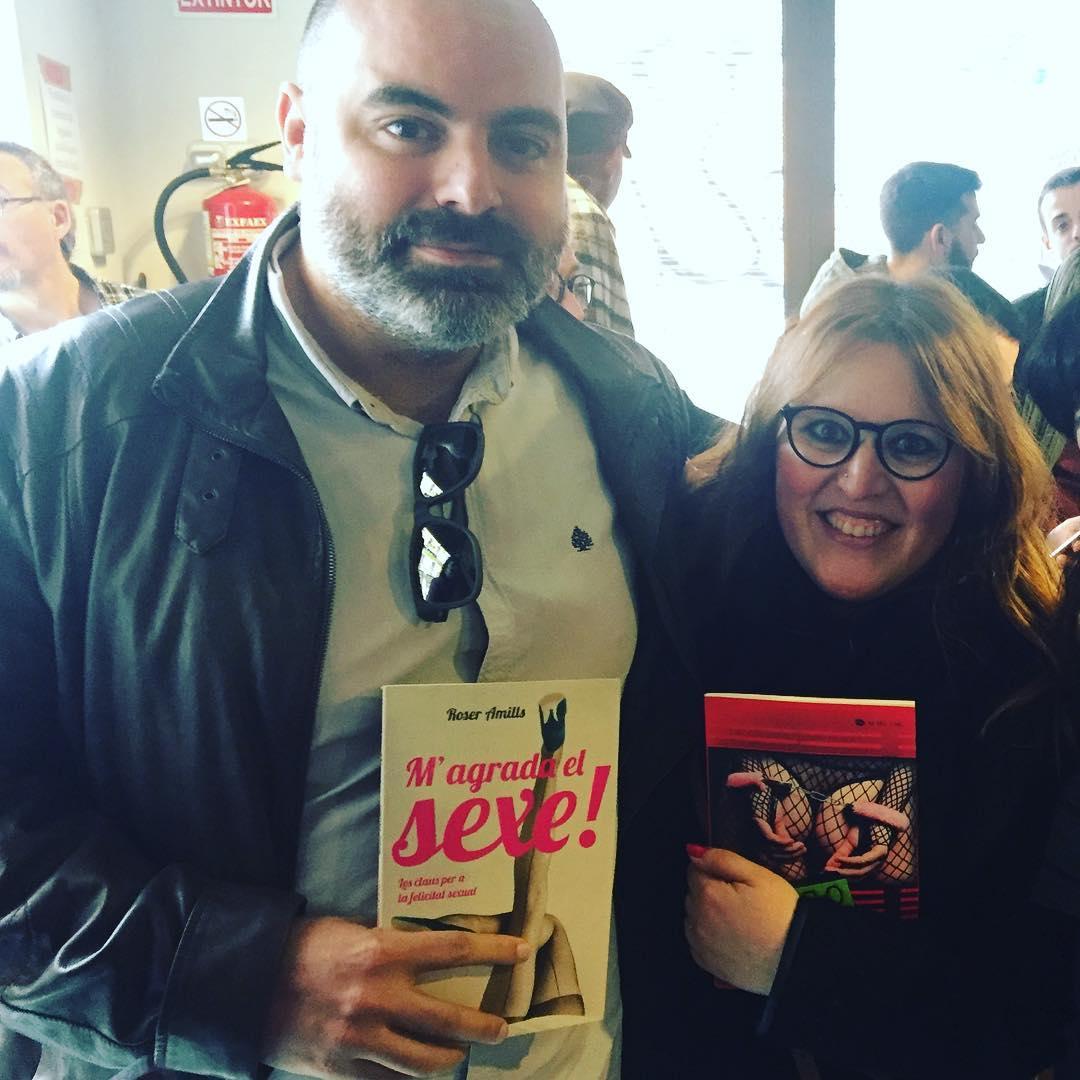 Lectores de Sabadell @basileia_ @lubobcn de #morbo y #magradaelsexe :)