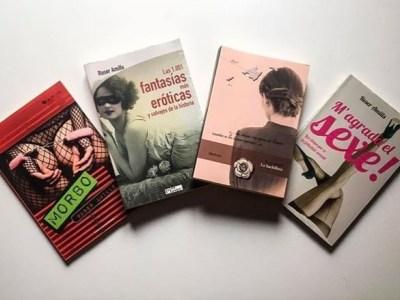 Sí, Pablo Trigo tiene lectura para una temporada ;)) #labachillera #morbo #las1001fantasias y #magradaelsexe ;))