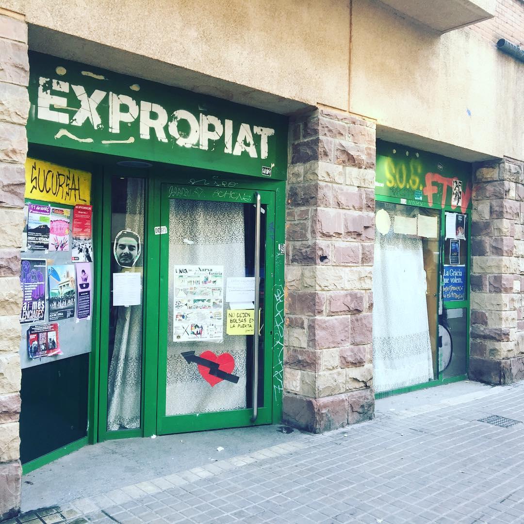Sabíeu que hi ha un #bancexpropiat II al mateix carrer de #bancexpropiat I?