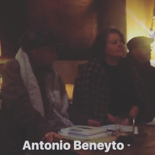 Antonio Beneyto ha presentado #tiempodequimera