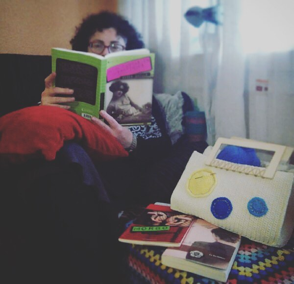 Espero @k_natura que me cuentes prontito cómo llevas toda esa lectura :)) #labachillera #1001fantasies #morbo